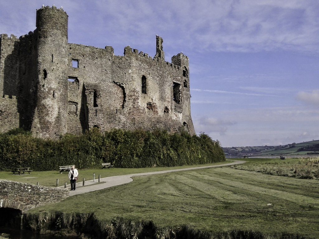 Visiting Laugharne in Carmarthenshire